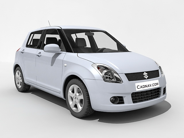 Maruti Suzuki Swift Dzire 3d Model 3ds Max Files Free Download