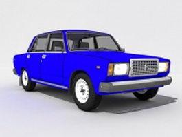 Lada Riva VAZ-2107 3d model