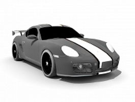 Porsche Cayman S 3d preview