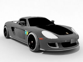 Porsche Cayman GT 3d preview