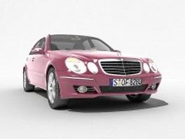 Mercedes-Benz E-Class executive car 3d model