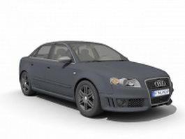 Audi RS 4 compact executive car 3d model