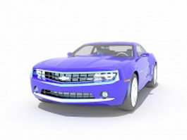 Chevrolet Camaro RS 3d model