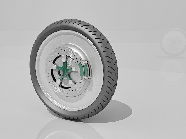 Alloy Wheel For Car 3d Model 3ds Max Files Free Download