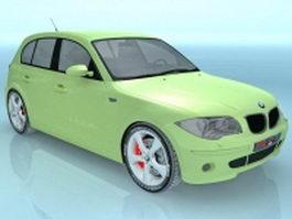 BMW 5-door hatchback 3d model