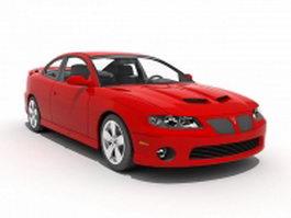 2004 Pontiac GTO 3d model