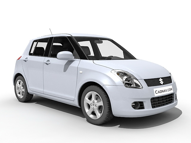 Suzuki Swift Car 3d Model 3ds Max Files Free Download