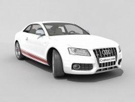 Audi S5 grand tourer 3d model