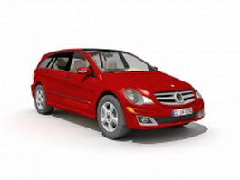 Mercedes Benz Hatchback 3d model