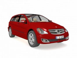 Mercedes-Benz A-Class car 3d model