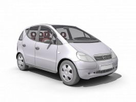 Mercedes Benz A140 car 3d model