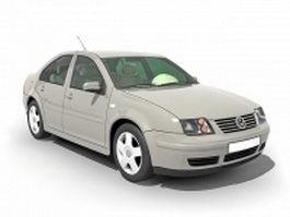 Volkswagen Santana sedan 3d model