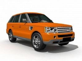 Range Stormer concept 3d model