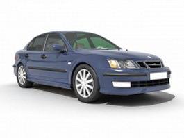 Saab car 3d model