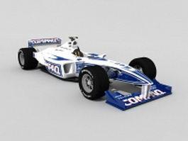 Formula One car 3d model