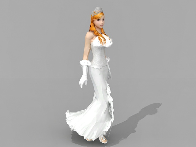 3d model of blonde - photo #44