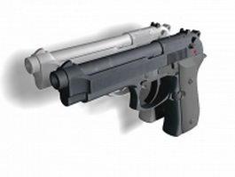 Beretta 92 pistols 3d model