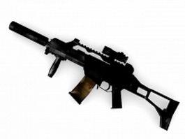 Heckler & Koch G36 assault rifle 3d model