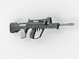 FAMAS bullpup assault rifle 3d model