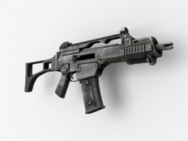 Heckler & Koch G36C carbine 3d model