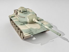 M60 Patton main battle tank 3d model