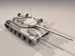 AMX-30 main battle tank 3d model