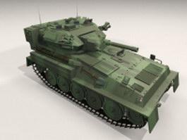 British Scorpion tank 3d model