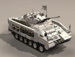 British Warrior Apc 3d model