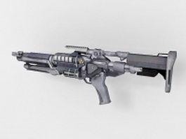 Sci-Fi weapon concept 3d model