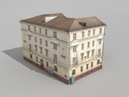 Old Moscow House 3d model