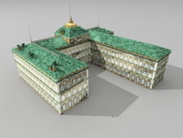 Palace of Congresses 3d model
