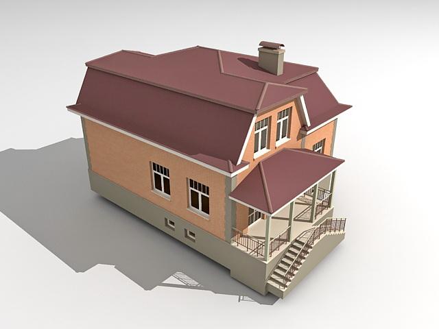 American house model