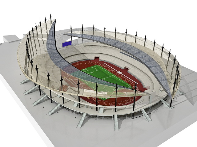 3d stadium design widescreen - photo #22