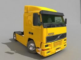 Volvo FH semi truck 3d model