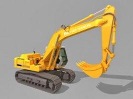 Fiat-Hitachi excavator 3d model