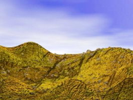 Rock hill landforms 3d model