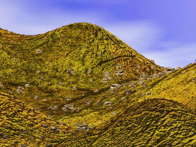 Rock Hill Landforms 3d Model 3ds Max Files Free Download