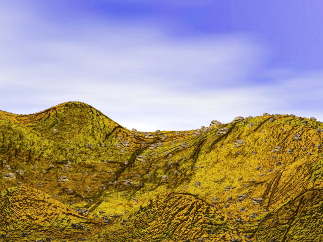 Rock Hill Landforms 3d Model 3ds Max Files Free Download