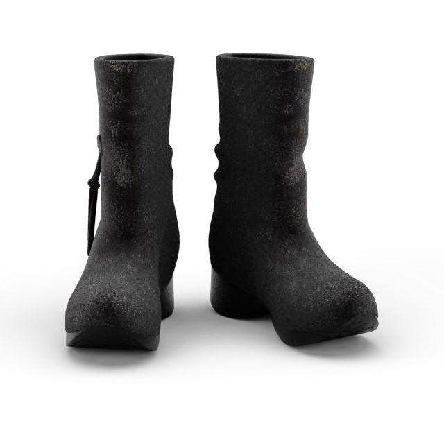 Duck Boots 3d Model 3ds Max Files Free Download Modeling