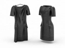 Little black dress 3d model