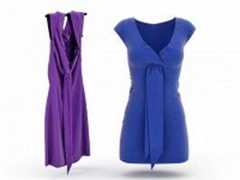 Jumper dress 3d model