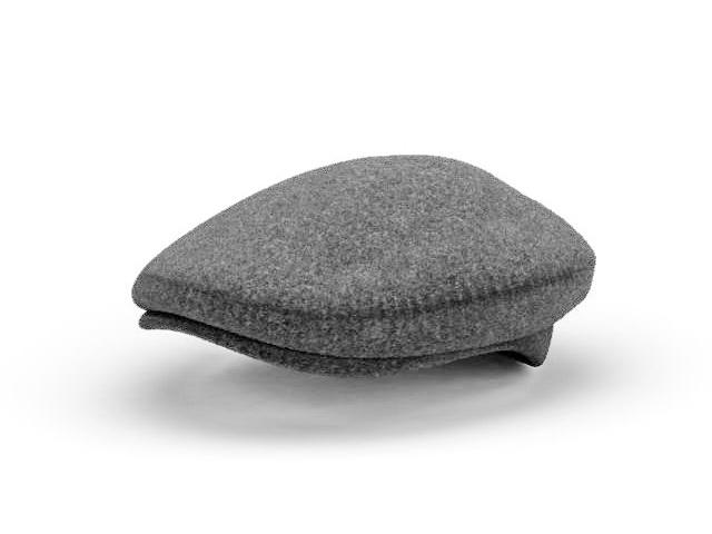 Men Ascot Hat 3d Model 3ds Max Files Free Download