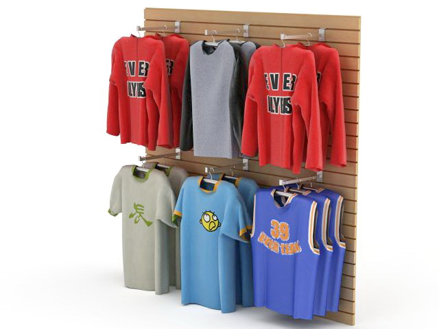 Clothing Retail Store Display 3d Model 3ds Max Files Free