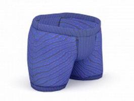 Boxer shorts 3d model