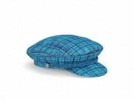 Driver cap hat 3d model