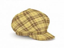 Newsboy hat 3d model