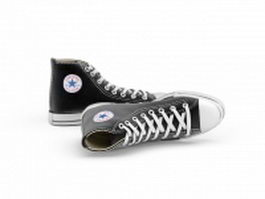 Converse sneakers 3d model