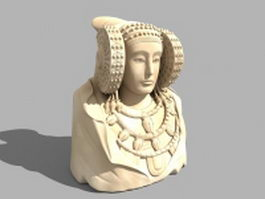 Ancient Iberian sculpture 3d model