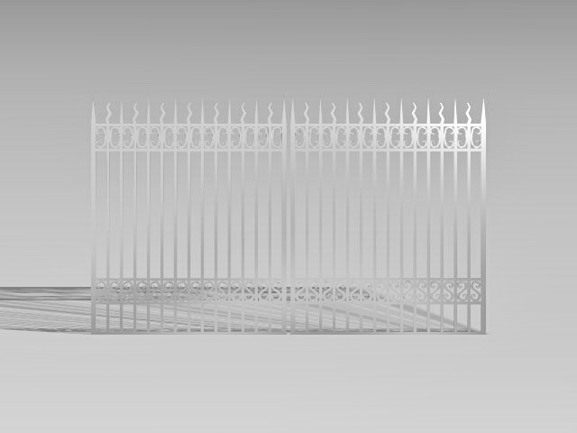 Fence 3d model free download - cadnav com