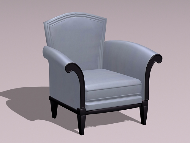Class Armchair 3d Model 3ds Max Autocad Files Free